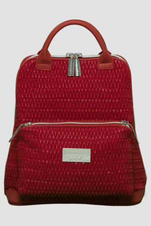 City Backpack Red backpack