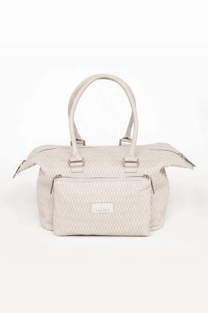 SMART Stretch Quilted Handbag Light Sand