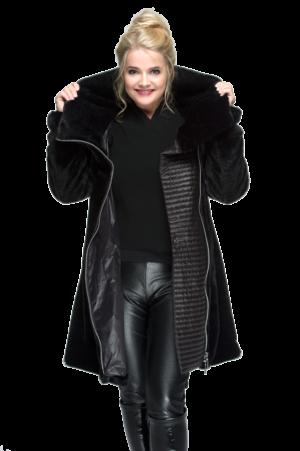 Sarah Fur Black AW19 8